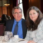 2012 Friend of the Lake Award recipient Charles Uibel with his wife Crystal.