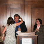 2012 Friend of the Lake - Charles Uibel accepting the award. Charles is a renown Lake photographer and web designer who has donated many of his images and many hours of his time working to raise awareness about the importance of Great Salt Lake.